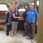 Jan Martin Bushell's Wood Fired Pizza Oven