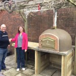 Lisa Richard Pissochet's Wood Fired Pizza Oven
