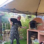 Martin Waugh, East Lothian's Wood Fired Pizza Oven