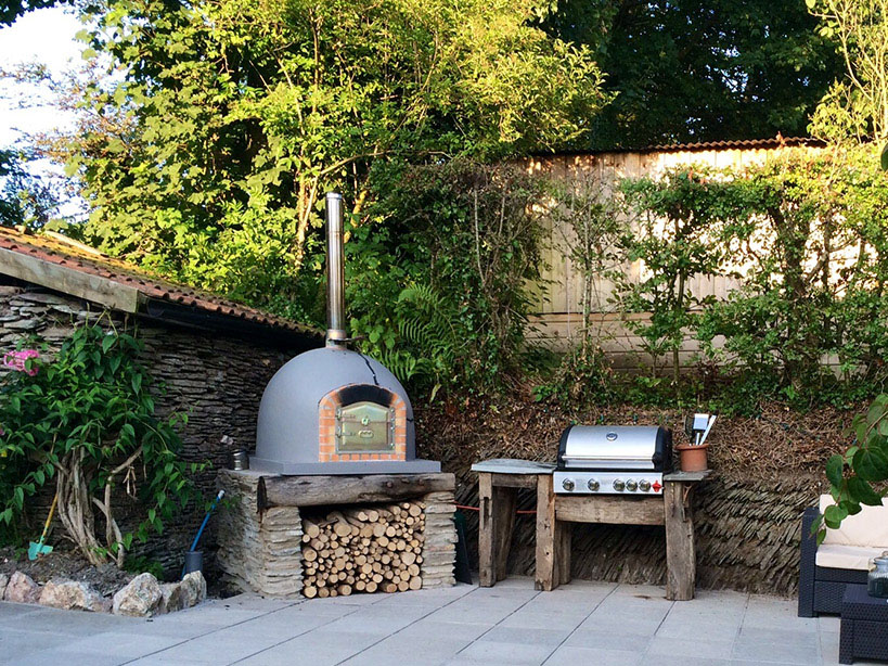 Ready Built Wood Fired Pizza Ovens by Amigo Ovens