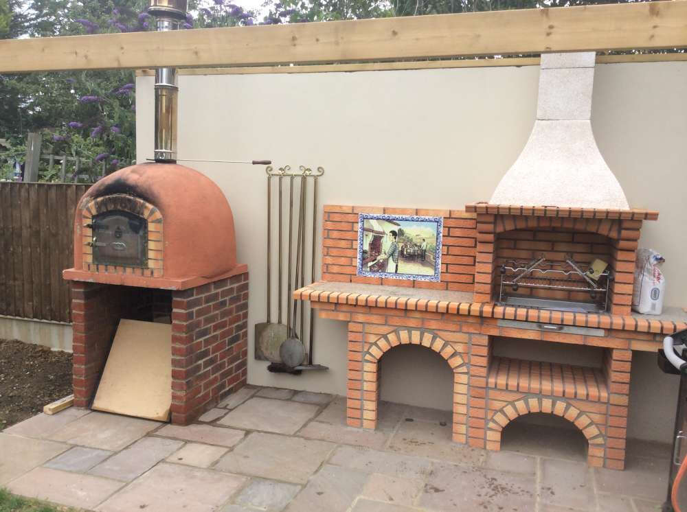 how to build a wood fired pizza oven book